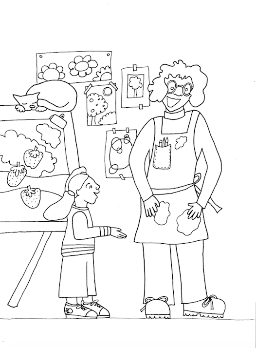FollowHeart coloring page blog